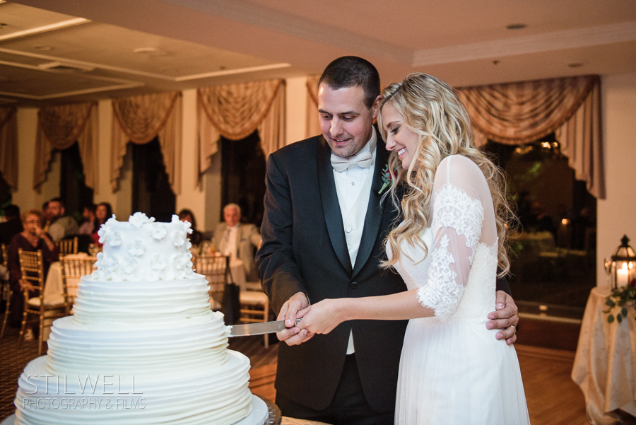 Cake Wedding Reception NY Thayer Hotel Alisa Stilwell Photography