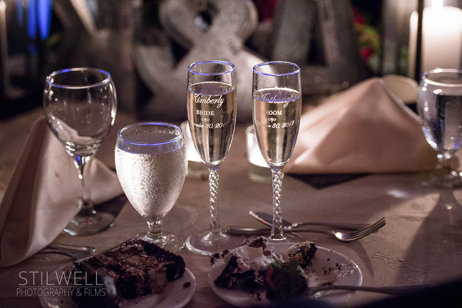 Champagne Thayer Hotel Wedding Stilwell Photography & Films