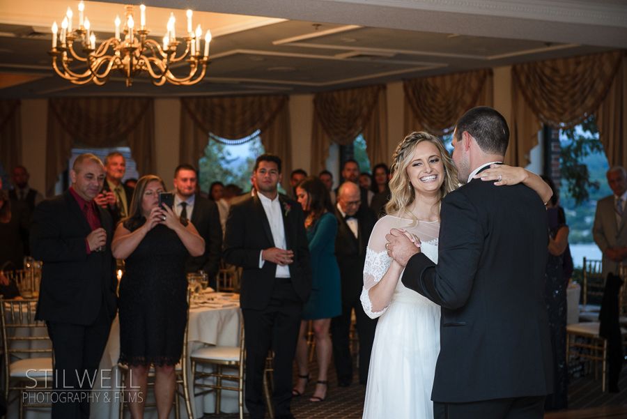 First Dance Thayer Hotel Wedding Alisa Stilwell Photography & Films