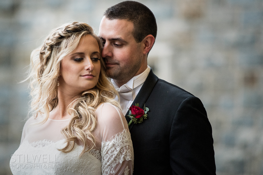 Wedding Couple Portrait Thayer Hotel Stilwell Photography