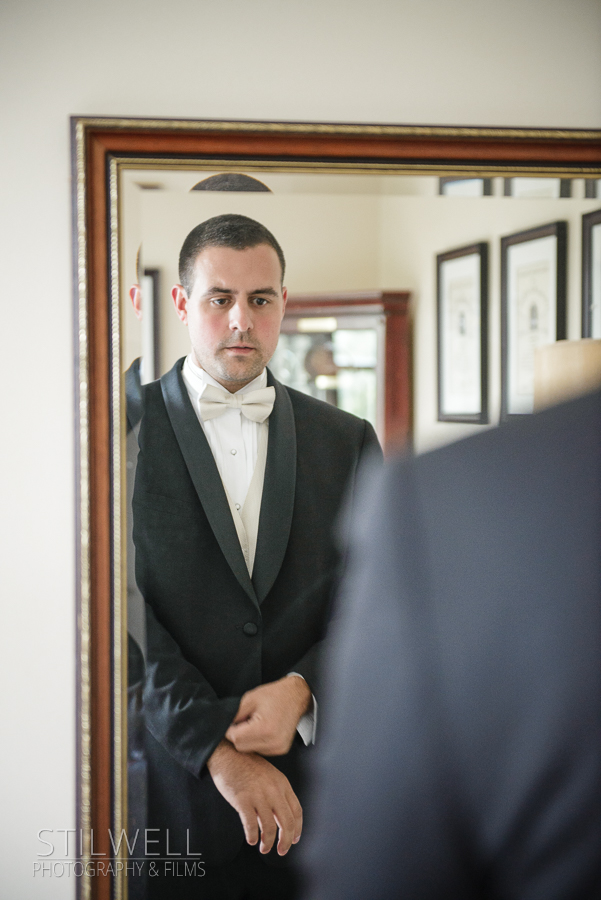 Wedding Groom Prep West Point Wedding Thayer Hotel Alisa Stilwell Photography