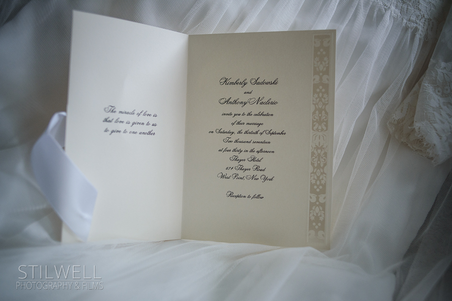 Wedding Invitation Stilwell Photography The Thayer Hotel