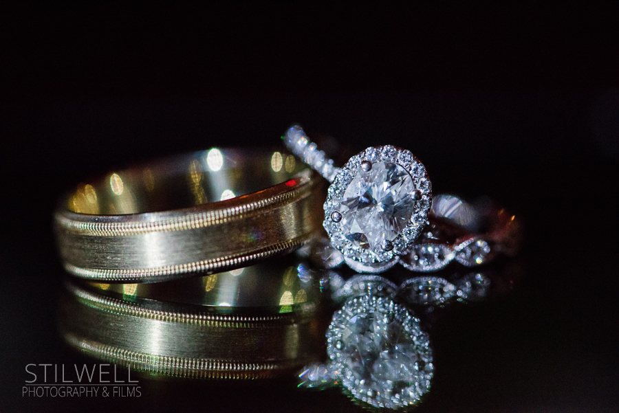 Wedding Rings Thayer Hotel at West Point Alisa Stilwell Photography