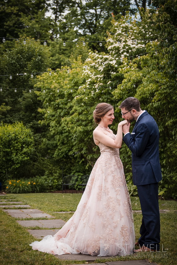 Bride and Groom Portrait Westchester Wedding Photography