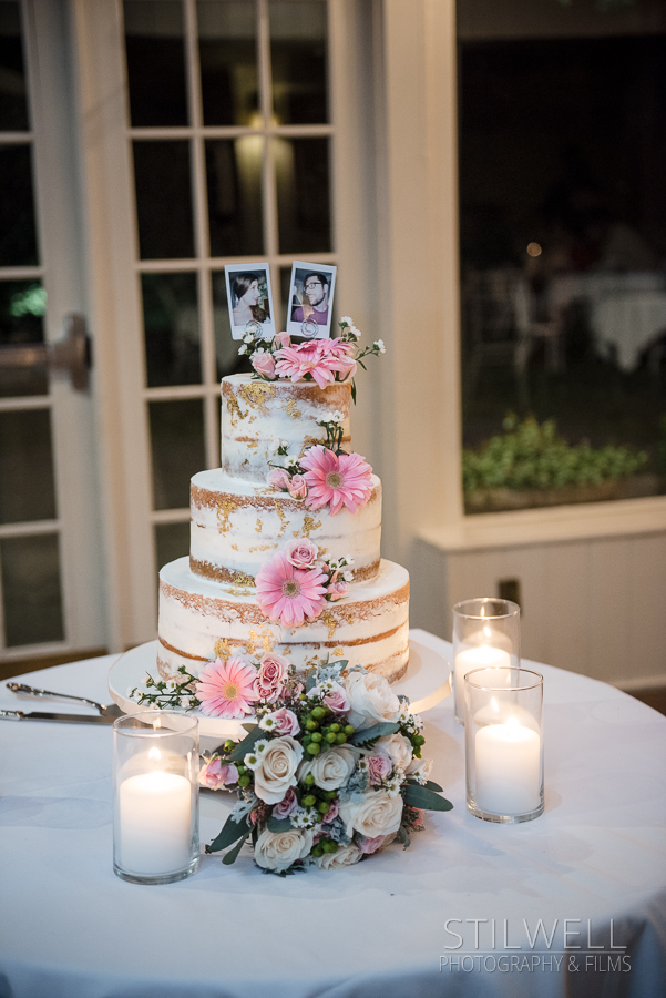 Cake Westchester Wedding Crabtree's Kittle House