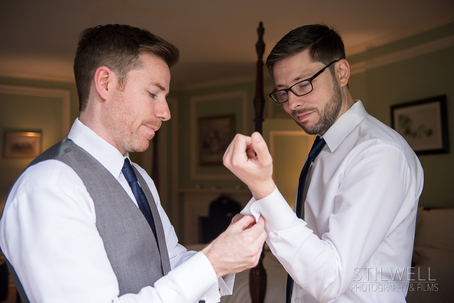 Westchester Wedding Photography Groom and Best Man