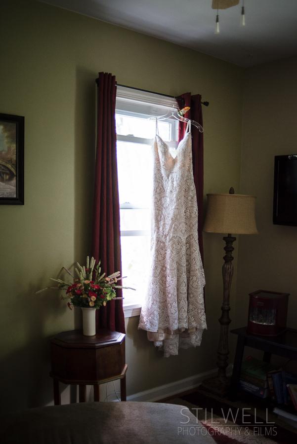FEAST Wedding Dress details