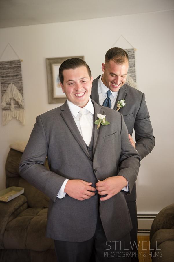 Getting Ready Photos FEAST Wedding