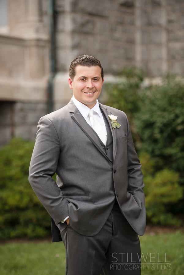 Groom The Mount Academy Wedding