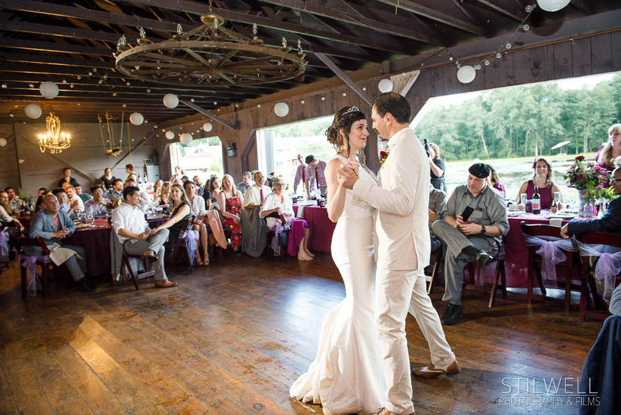 First Dance Romantic Hudson Valley Wedding