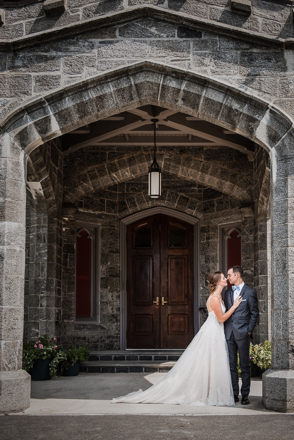 Couple Portrait Whitby Castle Rye NY Wedding